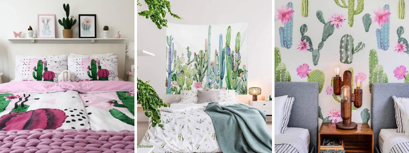 Cactus Themed Bedroom Decor Ideas Inspirations Cute Decor Online